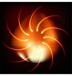 Abstract fire background spiral vector