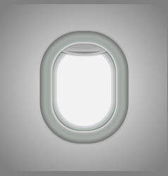 airplane windows vector image