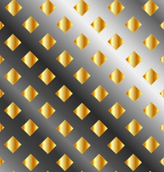 Background with metallic squares vector