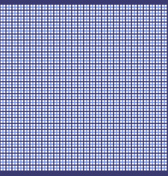 Blue tattersall pattern vector