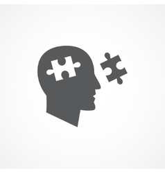 Cognition icon vector image