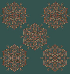 Mandala Ornamental Design Pattern vector image