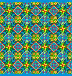 optimistic geometrical seamless pattern vector image