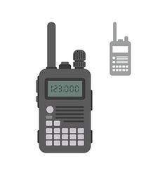 Police radio vector