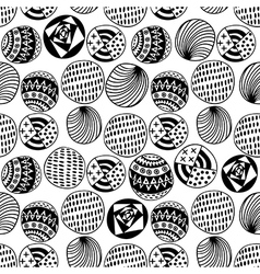 Seamless circle background seamless pattern with vector