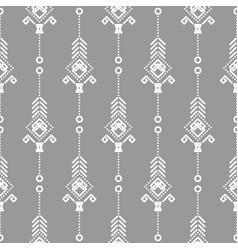 bohemian seamless pattern vector image