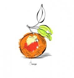 orange vector image vector image