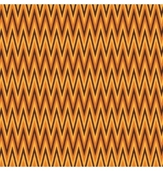 Zigzag abstract orange wrapping pattern vector image vector image