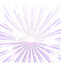 Trendy purple rays vector image