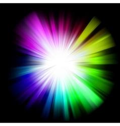 Abstract multicolor design vector