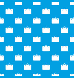 card black friday pattern seamless blue vector image