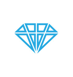 diamond icon design template isolated vector image