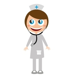 doctor medicine character funny vector image