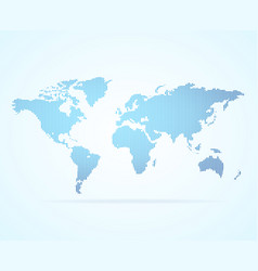 dot map global world vector image