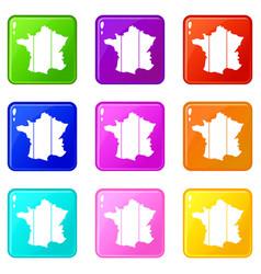 France set 9 vector