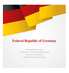 germany insignia template vector image