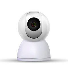 indoor stylish home video online camera vector image