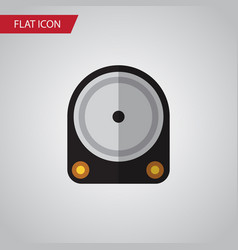 Isolated hard drive flat icon hdd element vector