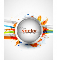 modern icon background vector image