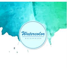 Modern watercolor background vector