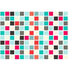 Retro Web Design Seamless Tiles - Mosaic Square vector image