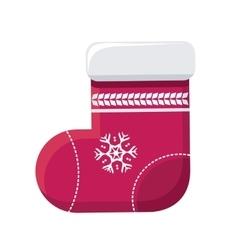 Sock for Christmas Stocking vector