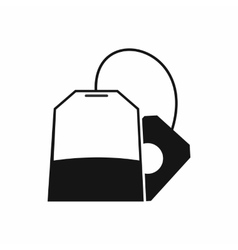 Teabag icon simple style vector image