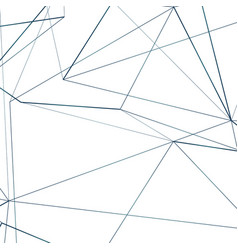technology connect abstract lines background vector image