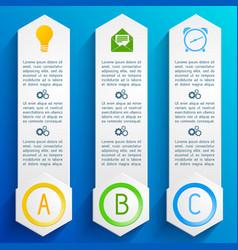 web design banners set vector image