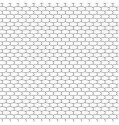 fish scales net vector image
