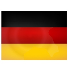 Vintage Germany Flag vector image