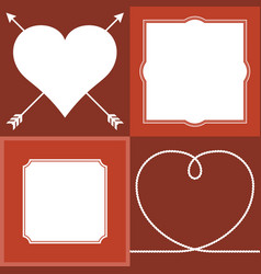 frame and border vector image