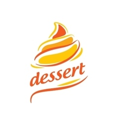 Logo dessert vector