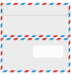 modern envelope or mail set vector image