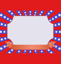 red blue background vector image