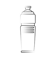water thermo bottle vector image