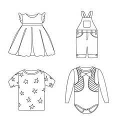 Wear and child logo vector