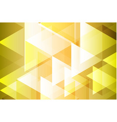 Yellow gold geometry abstract background vector