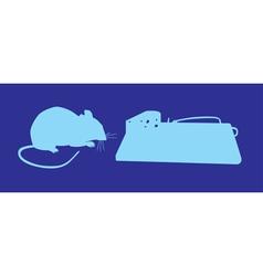 Mouse traps vector image