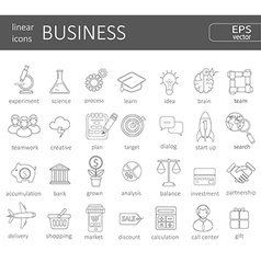 Business icons concept vector