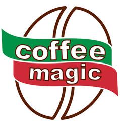 coffee magic 3 3 vector image vector image