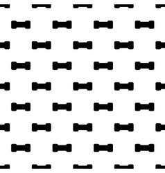 dumbbell seamless pattern vector image
