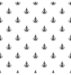 Military aircraft pattern simple style vector image