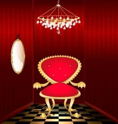 Mystery chair vector