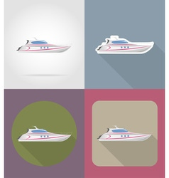 Transport flat icons 63 vector