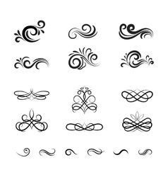 Vintage Decorative Elements and Ornaments vector
