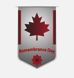 remembrance day - veterans day vector image