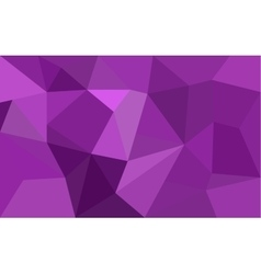 Purple low poly background vector image vector image