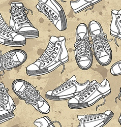 shoes vector image