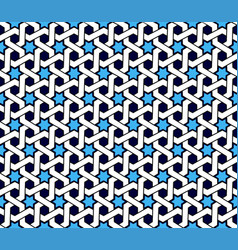 arabic patterns background geometric seamless vector image